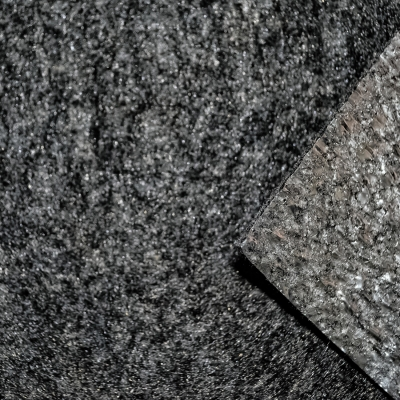Нетканое полотно с ламинированной, металлизированной плёнкой  тёмно серое
