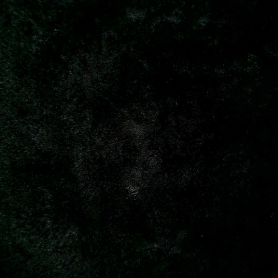 Мех искусственный трикотажный (на опушку) черный