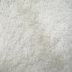 Мех искусственный трикотажный тумблированый  (под барашку) белый