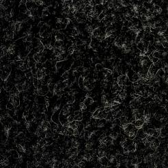 Мех искусственный трикотажный  тумблированный (под барашку)шерстяной чёрный