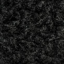 Мех искусственный трикотажный тумблированый  (под барашку) чёрный